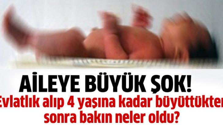 4 yaşındaki çocuk biyolojik annesine geri verildi