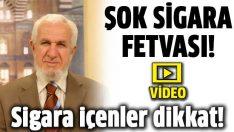Cevat Akşit Hoca'dan şok sigara fetvası