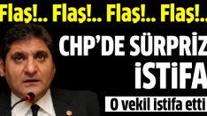 CHP'de 'yolsuzluk' istifası : Aykut Erdoğdu istifa etti!