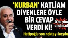 Prof. Dr. Nihat Hatipoğlu o soruyu cevapladı: Kurban kesmek katliam mı?