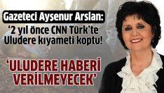 Uludere katliamı CNN Türk'te kıyameti koparmış