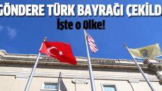 Amerika'da Türk bayrağı dalgalandı