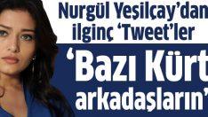 Nurgül Yeşilçay'tan ilginç açıklamalar: 'Bazı Kürt arkadaşların kendilerini…'
