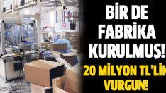 İstanbul'da sahte sigara fabrikası