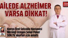 Günümüzün hastalığı: Alzheimer