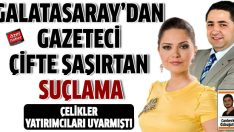 Gazetecilere Galatasaray şoku