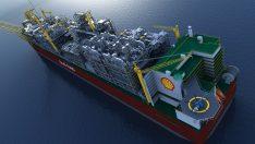 Dünyanın en büyük gemisi Prelude, Güney Kore'de suya indi