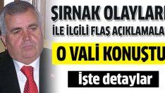 Eski Şırnak Valisi Mustafa Malay 1992 Şırnak olaylarını anlattı