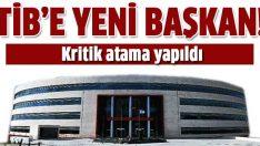 TİB'in başına Ahmet Cemalettin Çelik getirildi