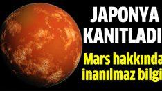 Mars'a kar yağıyor!