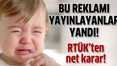 Gülüp ağlayan bebeğe RTÜK'ten ceza!