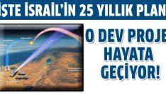 İsrail'in 25 yıllık planı gerçekleşiyor