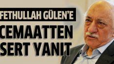 Fethullah Gülen'e sert tepki!