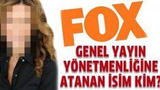 Şebnem Aşkın, Fox TV'nin yeni Genel Yayın Yönetmeni oldu