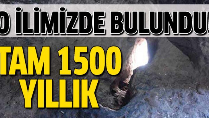 Türkiye'de bulundu! Tam 1500 yıllık