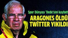 Luis Aragones'in arkasında atılan tweetler