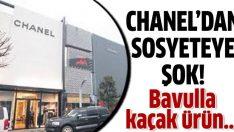 Sosyeteye Chanel kazığı