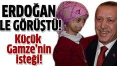 Başbakan Erdoğan progerie hastası ile görüştü