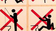 Tuvalette balık tutmayın!