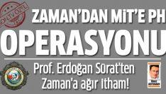 Prof. Dr. Mustafa Erdoğan Sürat: Zaman Gazetesi MİT'i itibarsızlaştırmak için demecimi çarpıttı!
