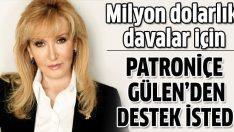 Milyonlarca dolarlık davalarla boğuşan Ceyda Erem Gülen'den destek istemiş