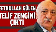 Fethullah Gülen telif zengini çıktı!