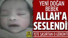 Suriyeli bebek Allah diyor!