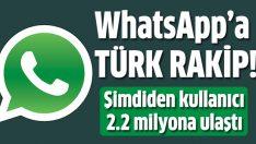 WhatsApp'a Türk rakip!