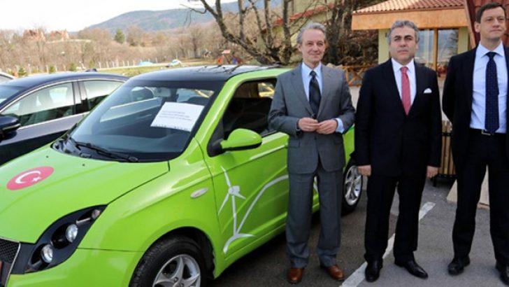 Yerli elektrikli otomobil onlara emanet