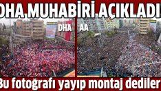 DHA Muhabiri o fotoğrafı açıkladı!