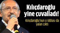 Kılıçdaroğlu yine çuvalladı!