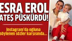Esra Erol'dan sert tepki!