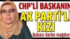 CHP'li başkanın AK Partili kızı
