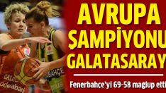 Avrupa Ligi şampiyonu Galatasaray oldu!