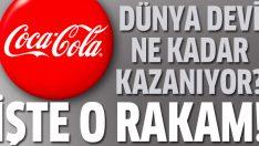 Coca Cola ne kadar kazanıyor?