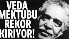 Gabriel Garcia Marquez'in olduğu iddia edilen veda mektubu rekor kırıyor!