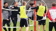 Liverpool idmanında kavga!