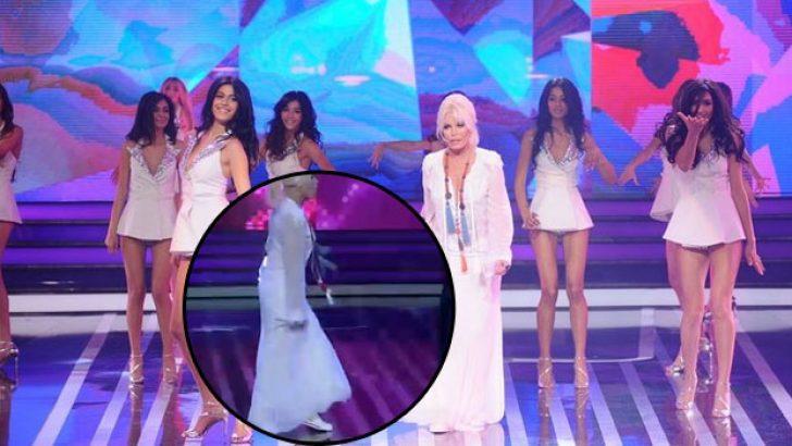 Ajda Pekkan ayakkabısı Miss Turkey'i salladı