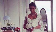 Buse Terim düğününde 3 gelinlik giydi