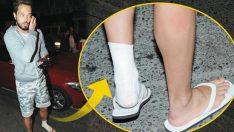Murat Boz'un ayağı mı kırıldı?