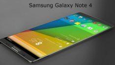 Samsung Galaxy Note 4 özellikleri ve fiyatı!