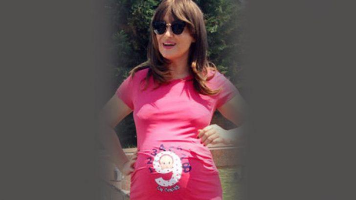 Zahide Yetiş hamile – Zahide Yetiş hamile kılığı