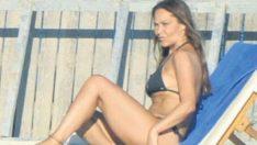 Hülya Avşar bikinili ilk pozunu verdi!