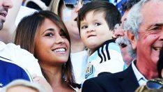 Messi'nin oğlu maçı böyle izledi! – Messi'nin oğlu