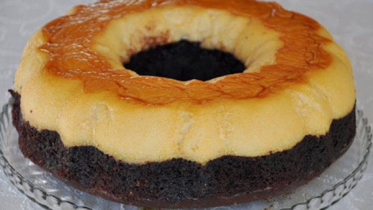 Krem karamelli kek tarifi – Kolay kek tarifi