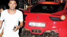 Burak Yılmaz onun için Ferrari'sini gözden çıkardı