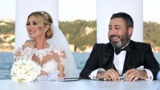 Petek Dinçöz ile evlenen Serkan Kodaloğlu nikaha geç kaldı