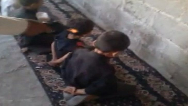 Suriyeli çocukların infaz oyunu görenleri korkutuyor!