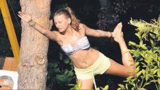 Serenay Sarıkaya'dan ayrılık yogası!