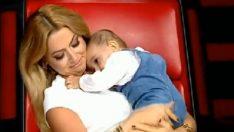 O Ses Çocuklar'da Hadise'nin bebek sevgisi